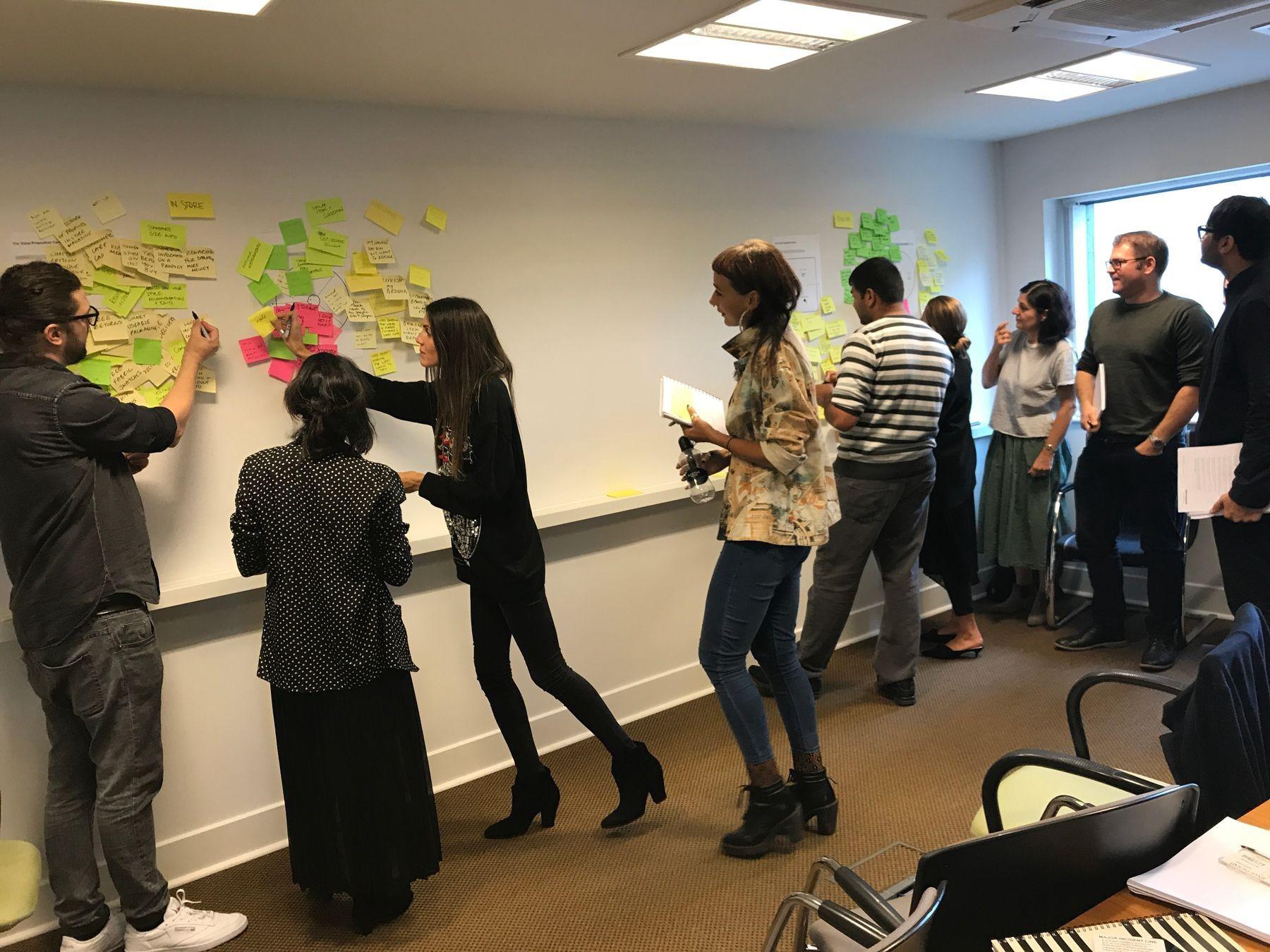 Value Proposition Canvas workshop